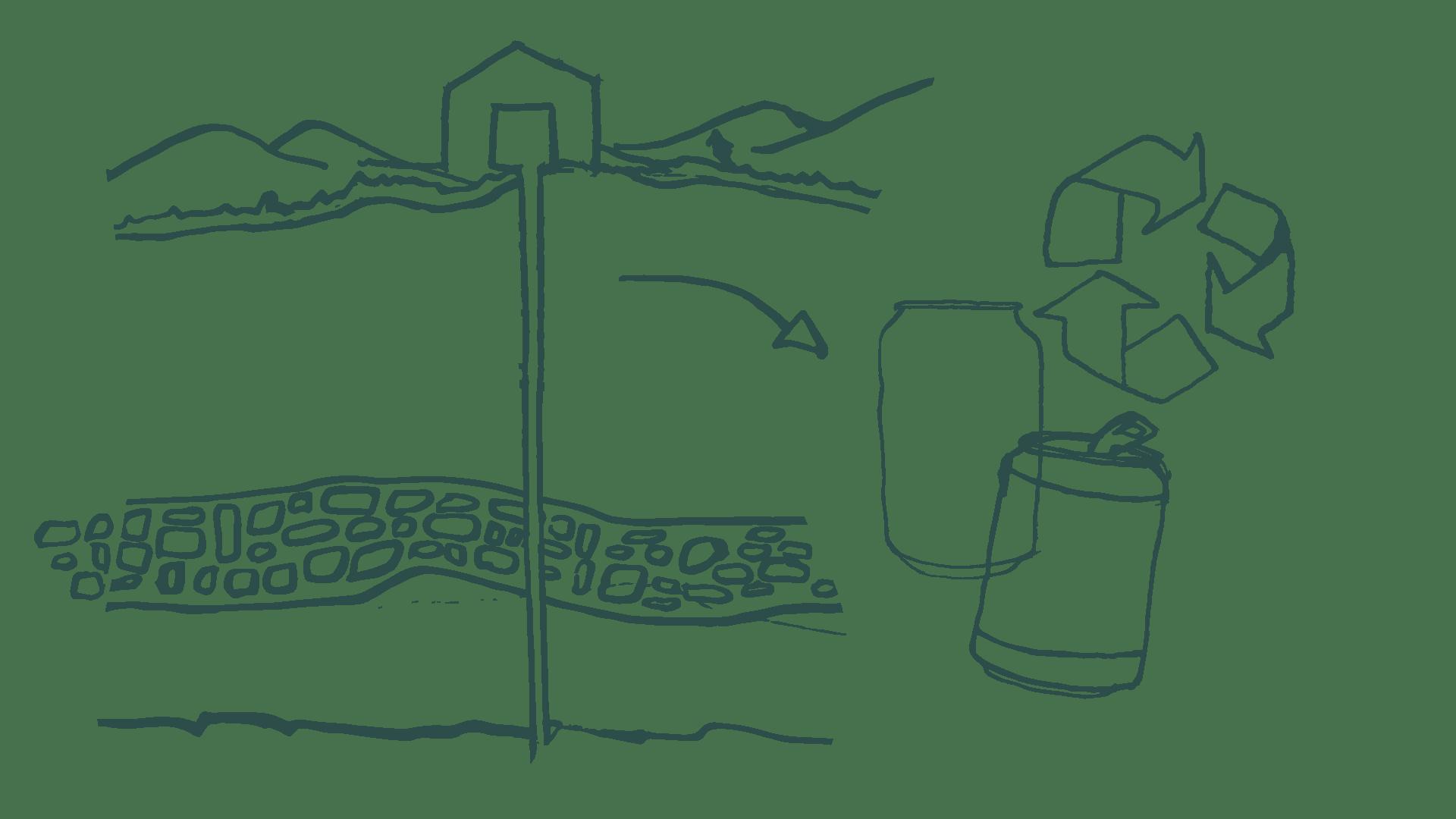 Canning-and-borehole